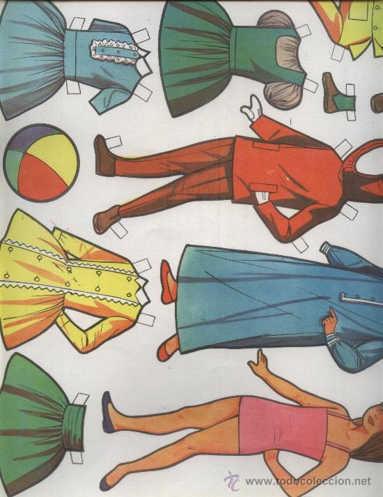 RECORTABLE 958 (Coleccionismo - Recortables - Muñecas)