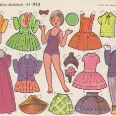 Coleccionismo Recortables: RECORTABLE (12,5X17,5)) EVA Nº 815. AÑO 1964... Lote 28746566