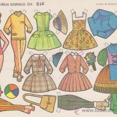 Coleccionismo Recortables: RECORTABLE (12,5X17,5)) EVA Nº 814. AÑO 1964... Lote 28746589