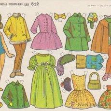 Coleccionismo Recortables: RECORTABLE (12,5X17,5)) EVA Nº 812. AÑO 1964... Lote 28746608