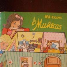 Coleccionismo Recortables: MI CASA DE MUÑECAS.- 7 HOJAS DE PIEZAS TROQUELADAS EN CARTULINA PARA CONSTRUIR Y AMUEBLAR UNA ....... Lote 28904070