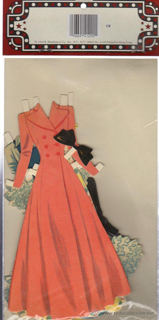 Coleccionismo Recortables: recortable COLLECTOR´S JUDY GARLAND, CUTOUT PAPER DOLL SET - Foto 2 - 29381095