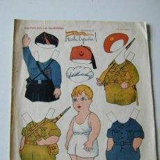 Coleccionismo Recortables: PEPIN EN LA GUERRA.. Lote 30343315