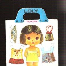 Colecionismo Recortáveis: RECORTABLE LOLY TRAPITOS 8. Lote 31536090