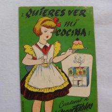 LA TIJERA.CASA MUÑECAS Nº4.¿QUIERES VER MI COCINA?