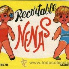 Coleccionismo Recortables: COLECCION COMPLETA 10 RECORTABLES DIFERENTES 'NENAS'. CADO UNO ES UN CUADERNILLO DE 6 HOJAS, ....... Lote 104043643