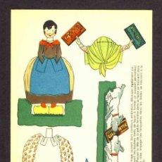 Coleccionismo Recortables: RECORTABLE NESTLE: MUÑECA Y PERROS (13,5 X 21 CMS). EN CARTULINA FINA. Lote 33007578