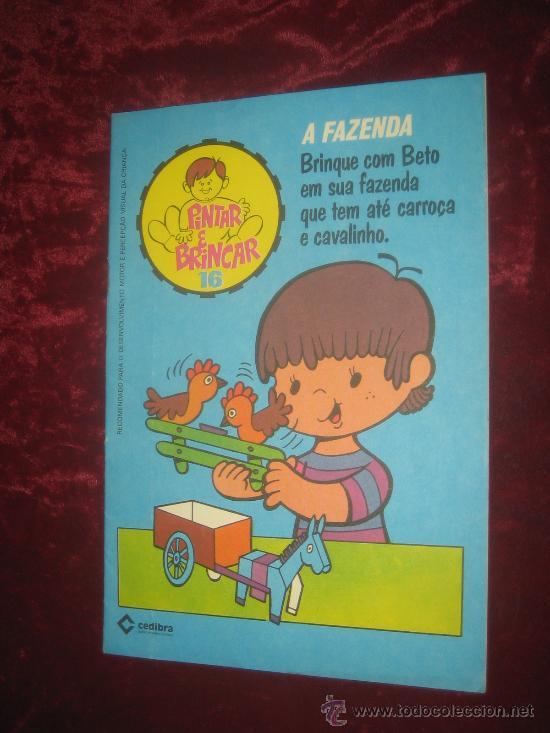 RECORTABLE A FAZENDA.. PINTAR E BRINCAR 16 (Coleccionismo - Recortables - Muñecas)