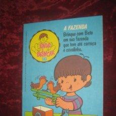 RECORTABLE A FAZENDA.. PINTAR E BRINCAR 16