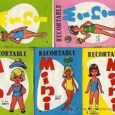 Coleccionismo Recortables: COLECCION COMPLETA DE 15 RECORTABLES DIFERENTES 'MINI'.- CADA UNO ES UN CUADERNILLO DE 6 HOJAS....... Lote 113577032