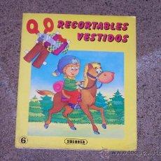 Coleccionismo Recortables: RECORTABLES VESTIDOS. SUSAETA. 7 UNIDADES. Lote 34764070