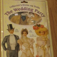 Coleccionismo Recortables: RECORTABLE THE WEDDING PARTY MADE IN ENGLAND. Lote 34933783