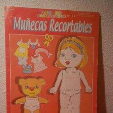 Coleccionismo Recortables: DESPLEGABLE DE RECORTABLE DE MUÑECA . Lote 35000975