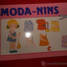 Coleccionismo Recortables: LIBRO DE RECORTABLE MODA NINS DE CON- BEL 1994. 8 MUÑECAS.. Lote 35351554