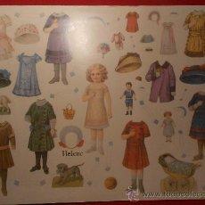Coleccionismo Recortables: RECORTABLE DE MUÑECA HELENE. Lote 74897154