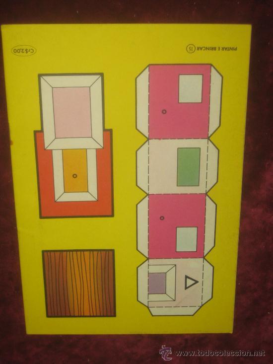 Coleccionismo Recortables: RECORTABLE SERIE PINTAR Y BRINCAR Nº 15. - Foto 2 - 35526072