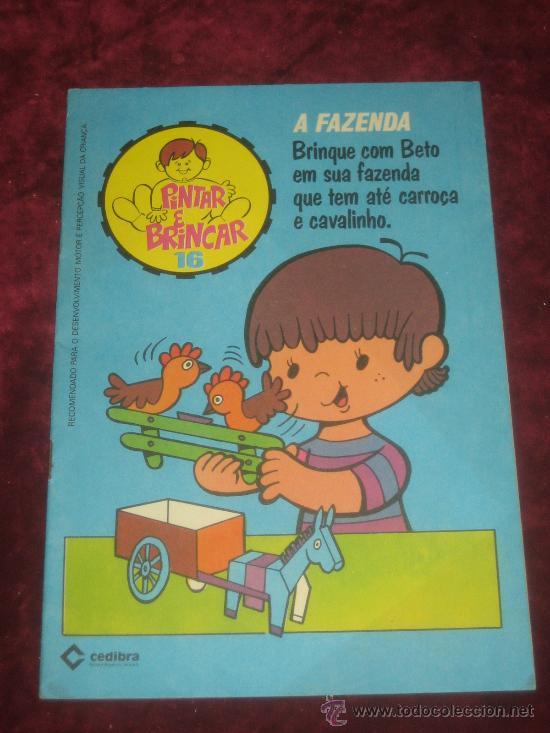 RECORTABLE SERIE PINTAR E BRINCAR Nº 16 (Coleccionismo - Recortables - Muñecas)