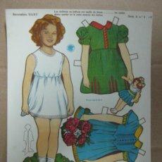 Coleccionismo Recortables: RECORTABLE BABY - SHIRLEY TEMPLE, AÑOS 40, SERIE A, Nº 4-P. Lote 35796932