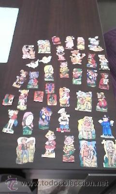 Coleccionismo Recortables: Lote de 40 recortables ya recortados.Variosmuñecas,animales,indios,cawboys ETC - Foto 2 - 36543876