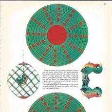Coleccionismo Recortables: RECORTABLE DE LOS AÑOS 60 - JAULA - Nº 27 -. Lote 37044830