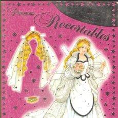 Coleccionismo Recortables: PRINCESAS RECORTABLES * LA BELLA DURMIENTE* 1994. Lote 37187567