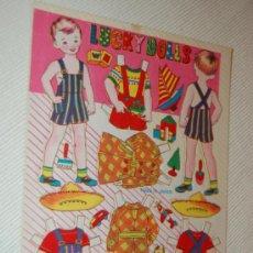 Coleccionismo Recortables: RECORTABLES AÑOS 50 JAPAN. Lote 37355011