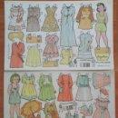 Coleccionismo Recortables: RECORTABLES: ANGELINES, MARY CÁRMEN Y MARISOL. Lote 37376162