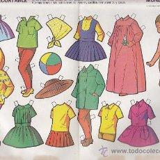 Coleccionismo Recortables: RECORTABLE MUÑECAS FRUCO RECORTABLE MUÑECAS Nº 4. Lote 38201079