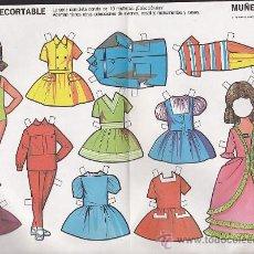 Coleccionismo Recortables: RECORTABLE MUÑECAS FRUCO RECORTABLE MUÑECAS Nº 5. Lote 38201091