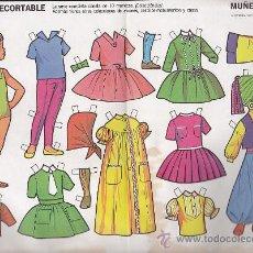 Coleccionismo Recortables: RECORTABLE MUÑECAS FRUCO RECORTABLE MUÑECAS Nº 6. Lote 38201095