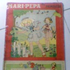 Coleccionismo Recortables: MARI PEPA EN PRIMAVERA COTARELO CLARET SUPLEMENTO RECORTABLE ANTIGUO IMPORTANTE. Lote 38328403