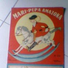 Coleccionismo Recortables: MARI PEPA AMAZONA Nº 29 COTARELO CLARET SUPLEMENTO RECORTABLE ANTIGUO IMPORTANTE. Lote 38328465