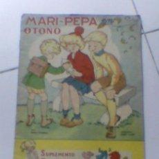 Coleccionismo Recortables: MARI PEPA OTOÑO CUENTO REVISTA COTARELO CLARET SUPLEMENTO RECORTABLE ANTIGUO IMPORTANTE. Lote 38328570