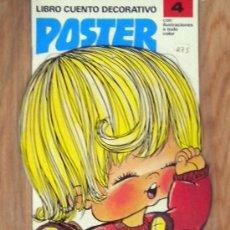 Coleccionismo Recortables: LIBRO CUENTO AÑOS 80 MUÑECAS POSTER RECORTABLE Nº 4 ZIP EDITORA. Lote 46073837