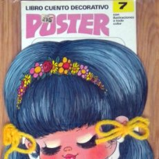 Coleccionismo Recortables: LIBRO CUENTO AÑOS 80 MUÑECAS POSTER RECORTABLE Nº 7 ZIP EDITORA. Lote 53538220