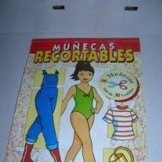 Coleccionismo Recortables: MUÑECAS RECORTABLES. SERVILIBRO. USADO, FALTAN ALGUNOS, VER FOTOS.. Lote 39238125