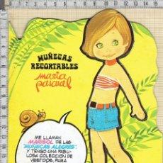 Coleccionismo Recortables: MUÑECA RECORTABLE MARIA PASCUAL -MARISOL-. Lote 40925497
