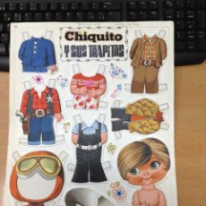Coleccionismo Recortables: RECORTABLE ORIGINAL ( DIBUJO ORIGINAL ) CHIQUITO Y SUS TRAPITOS EDITORIAL BRUGUERA REVISTA LILY. Lote 41203530