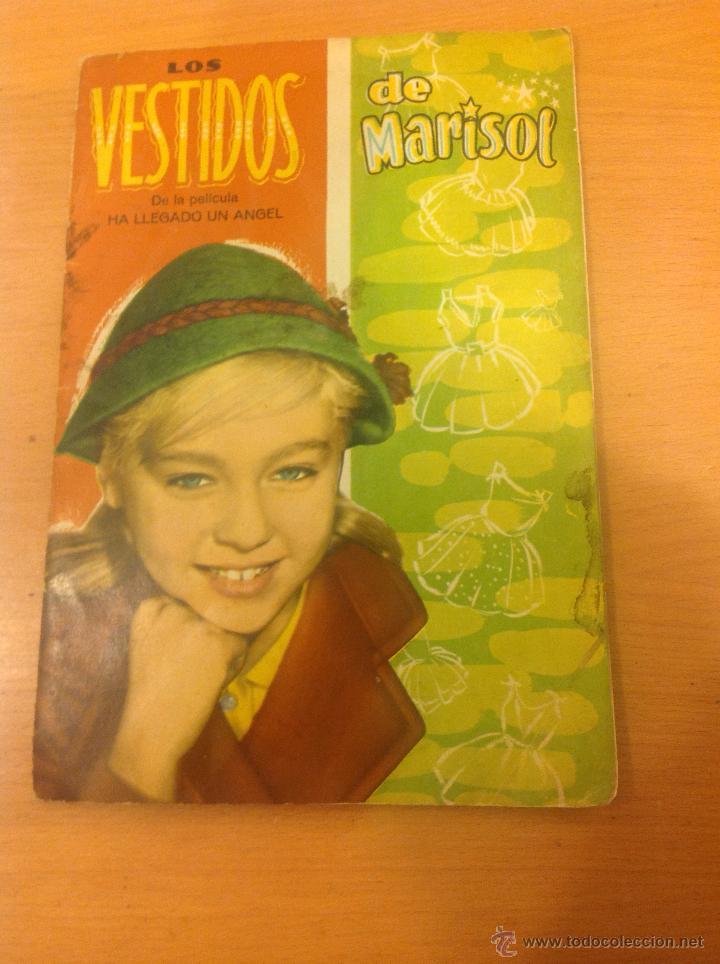 MARISOL PEPA FLORES HA LLEGADO UN ANGEL RECORTABLES 1961 (Coleccionismo - Recortables - Muñecas)