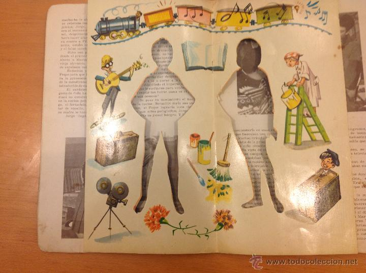 Coleccionismo Recortables: MARISOL PEPA FLORES HA LLEGADO UN ANGEL RECORTABLES 1961 - Foto 3 - 41439582