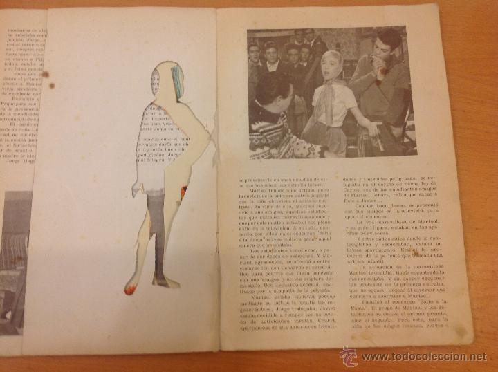 Coleccionismo Recortables: MARISOL PEPA FLORES HA LLEGADO UN ANGEL RECORTABLES 1961 - Foto 4 - 41439582