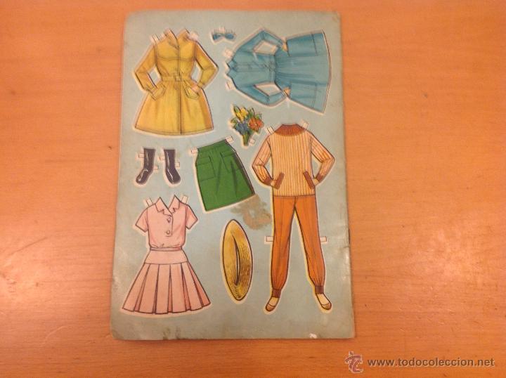 Coleccionismo Recortables: MARISOL PEPA FLORES HA LLEGADO UN ANGEL RECORTABLES 1961 - Foto 6 - 41439582