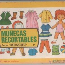Coleccionismo Recortables: MUÑECAS RECORTABLES - EDICIONES BOGA - SERIE MENCHU - 50 LÁMINAS SURTIDAS. Lote 64390886