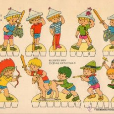 Coleccionismo Recortables: RECOLTABLE DE JUEGOS INFANTILES. Lote 42892978