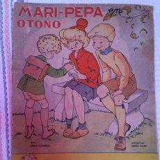 Coleccionismo Recortables: MARI PEPA EN OTOÑO Nº 25 COMPLETO CON RECORTABLES. AÑO 1947 . Lote 43242602