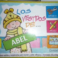 Coleccionismo Recortables: RECORTABLE LOS VESTIDOS DE ABEL. EDITORIAL COMBEL. Lote 46648790