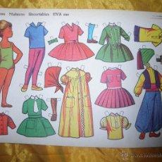 Coleccionismo Recortables: RECORTABLES EVA Nº 856. LAMINAS MUÑECAS *. Lote 46649624