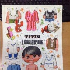 Coleccionismo Recortables: RECORTABLE ORIGINAL EDITADO POR BRUGUERA PARA REVISTA LILY TITIN Y SUS TRAPITOS. Lote 46779771