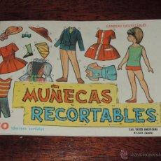 Coleccionismo Recortables: 10 LAMINAS MUÑECAS RECORTABLES EVA, DEL NUM. 801 AL NUM. 810 AMBAS INCLUSIVE, MIDEN 18 X 12,5 CMS.. Lote 47265611