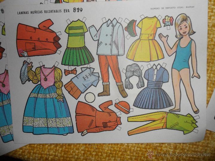Coleccionismo Recortables: IRREPETIBLE LOTE DE 50 HOJAS REOCORTABLES. - Foto 2 - 48661460